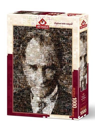 Art Puzzle 1000 Parça Mustafa Kemal Atatürk-Art Puzzle